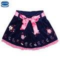 Новый дизайн nova фирменных девушки юбки летние детской одежды носить модные конструкции юбки дети девушки одежда бантом юбки