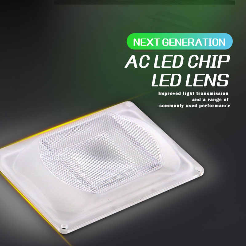 1 set LED Lens Reflector For LED COB Lamps Include: PC lens+Reflector+Silicone Ring Lamp Cover shades FloodLight DIY