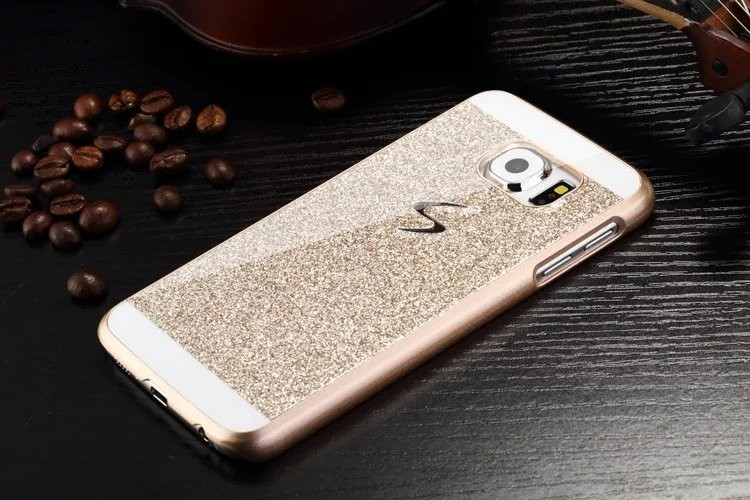 Fashion Luxury Diamond Flash Case For Samsung Galaxy S7 edge S6 Note7 3D Bling Delicate Phone Cases Phone Accessories Protector 8