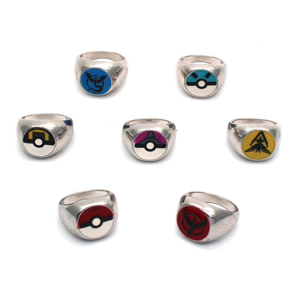 jogo-bola-puxao-monstro-de-bolso-font-b-pokemon-b-font-gengar-zapdos-articuno-moltres-prata-do-metal-anel-ornamento-colecao-cosplay-otaku-presente