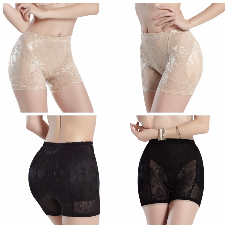 e789152584 Top sale Silicone Padded Panties Women Shapewear Bum Butt Hip Lift  Enhancing Knickers Safety Panty-in Control Panties from Underwear    Sleepwears on ...