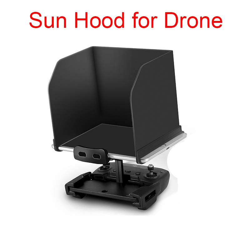 Sunshade Hood Tablet Monitor Shade For Iphone iPad mini Air For DJI Mavic Pro Mavic Air Spark DJI Phantom 4 3 Drone Spare Parts new 9 7 inch fpv monitor sunshade sun hood for tablet ipad