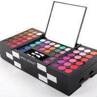 MISS ROSE Marca 150 Colores de Sombra de Ojos Paleta de Maquillaje de Ojos Glitter Paleta Maquiagem Profissional Mate Pigmento de Color de Sombra de Ojos