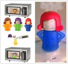 Angry Mama Microwave Cleaner Easily Cleans Microwave Oven Steam Cleaner