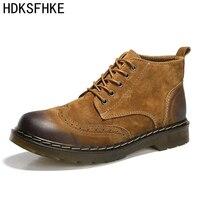 2018 أحذية للرجال أحذية رجال الجيش الكاحل الأحذية أزياء الربيع/الخريف الرجال الاحذية أحذية