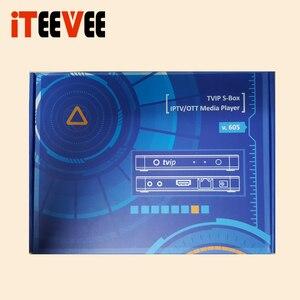 Image 2 - 5 шт., ТВ приставка TVIP 605, 4K, Wi Fi, 4k/2,4G