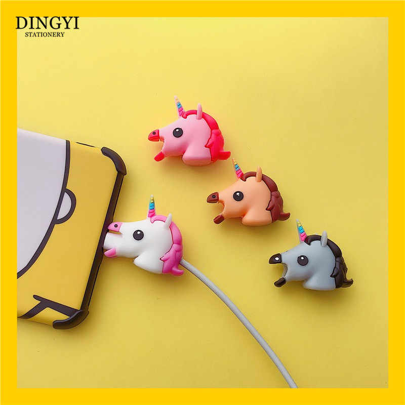 Hoge Kwaliteit Angel/Bat USB Kabel Productor Cartoon Oortelefoon Kabel Cord Wire Cover Winder Oplader Organizer Houder voor Iphone