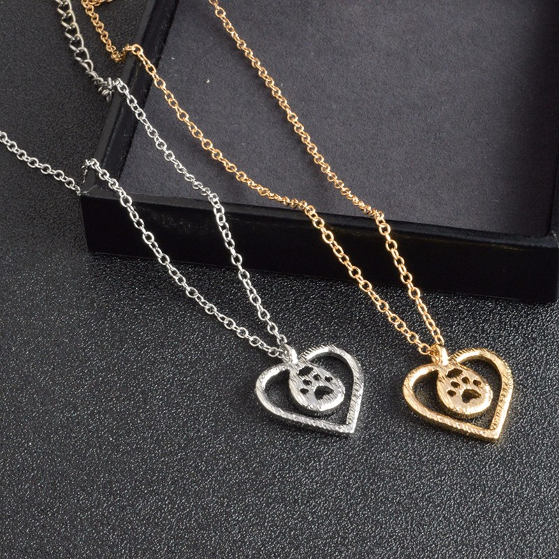I Love Paw Necklace 18