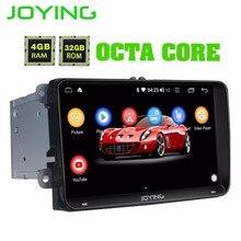 """9 """"Intel 4 GB + 32 GB Android 8.1 Stereo Radio Unità di Testa Per Volkswagen VW Skoda POLO GOLF PASSAT GPS Multimedia Player Aggiungere DSP"""