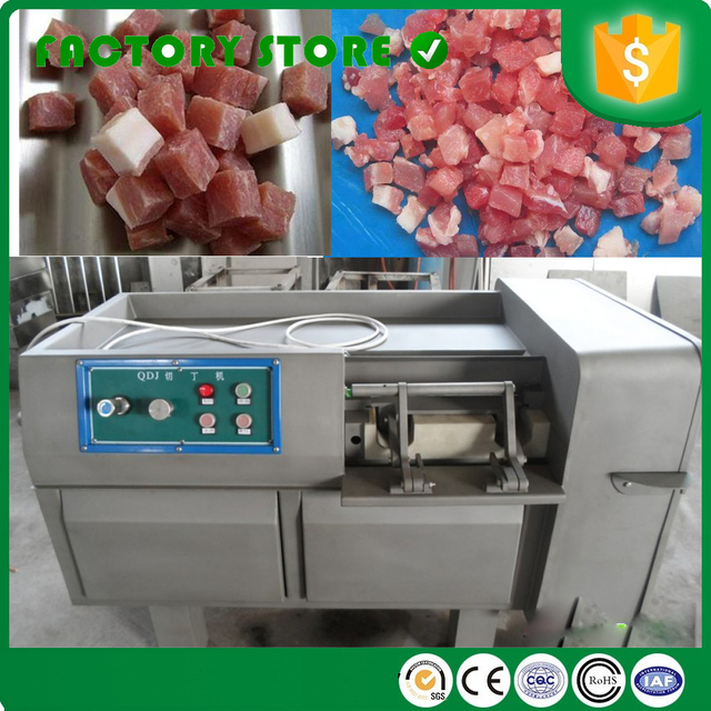 High Capacity Fresh Frozen Meat Cutter Cube Cutting Machine Dicer For