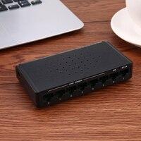мощность через Ethernet переключатель 6 в-55 в мощность Эд 8 порты и разъёмы для Ethernet коммутатор с поддержкой PoE инжектор рое сетевые коммутаторы с подсветкой
