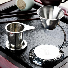Stainless Steel Mesh Tea Mesh Tea Infuser Reusable Strainer Loose Tea Leaf Spice Stainless Steel Filter Tea Strainer for Teapot