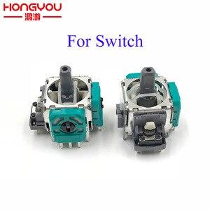 2Pcs Original Replacement part 3D Analog Joystick Thumb Stick Joystick Sensor Module For Nintend Switch NS Pro controller joypad(China)