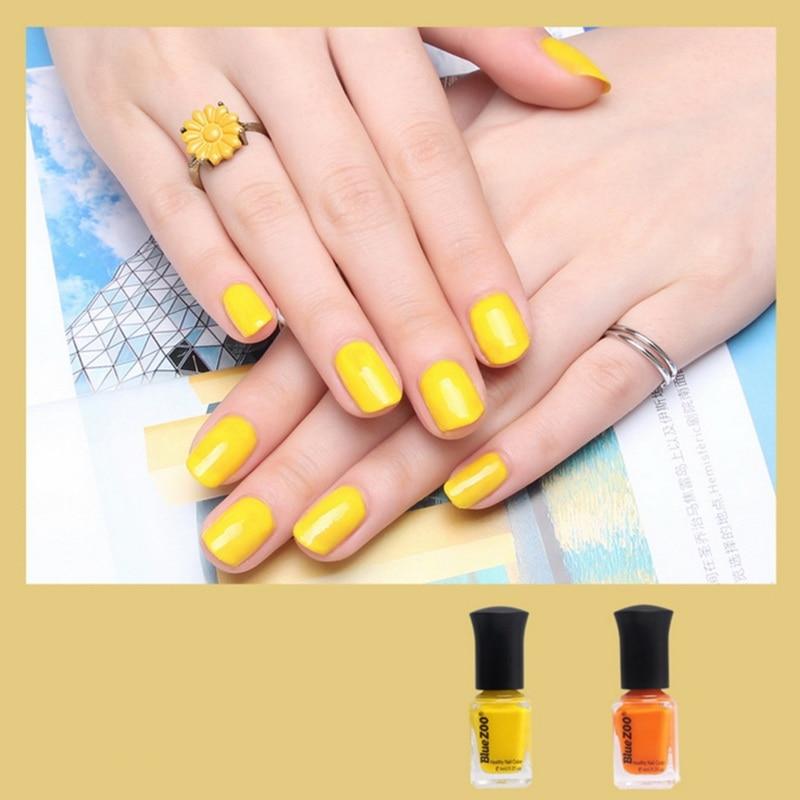 Easy Peeling Nail Polish Environmentally Friendly Nails