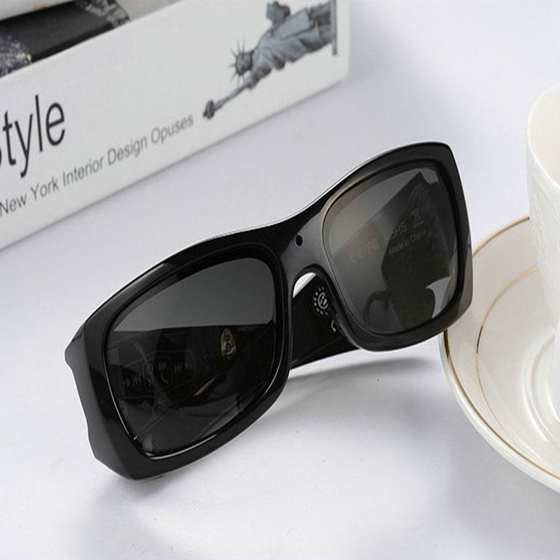 Gafas inteligentes con cámara de vídeo versión actualizada DV Bluetooth Estéreo auriculares polarizados cámara Digital video HD Cámara gafas de sol Cargador inteligente de batería MiBoxer C4 doble AA Max 2.5A/ranura Super rápido 18650 14500 26650 función de carga de descarga