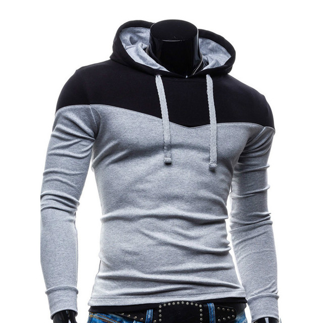 Casual Hoodies Men 2016 Autumn Mens Hoodies Sweatshirts Thick Slim Fashion Male Hooded Jackets Men Coat Polo Hoody