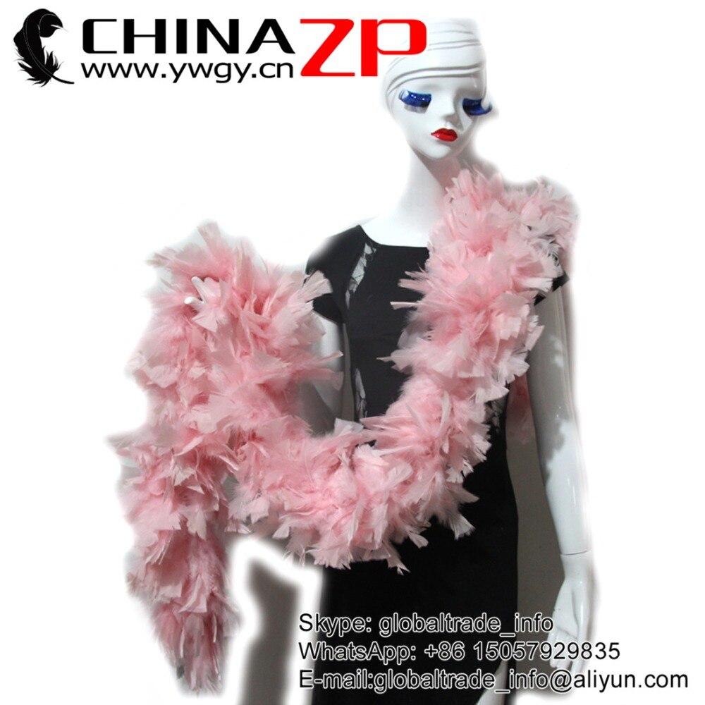 Chinazp Feathers Beautiful Decolorizin Baby Pink Chandelle