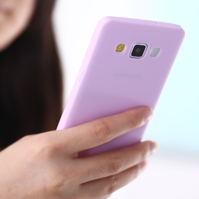 Solid Candy Color Matte Skin Case for Samusng Galaxy A5 A7 A8 TPU Silicone Soft Back Cover for Samsung Galaxy SM-A500 A700 A8000