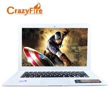 CrazyFire Фирменная Новинка 4 ГБ оперативной памяти и 320 ГБ HDD Intel Celeron J1900 Quad Core ноутбук HDMI Windows 10 игровых ноутбуков ноутбук