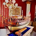Navios de guerra modelo escala 1/30 Clássico Super Deluxe kits modelo de barco a vela Real Britânica Caroline