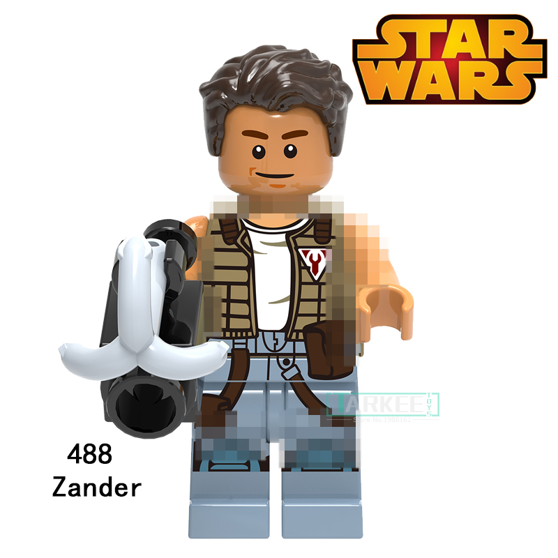 Building Blocks Zander Clone Trooper Cunner Super Heroes Star Wars Set Action Bricks Dolls Kids DIY Toys Hobbies XH488 Figures building blocks the walking dead figures rick negan carl daryl star wars super heroes set assemble bricks kids diy toys hobbies