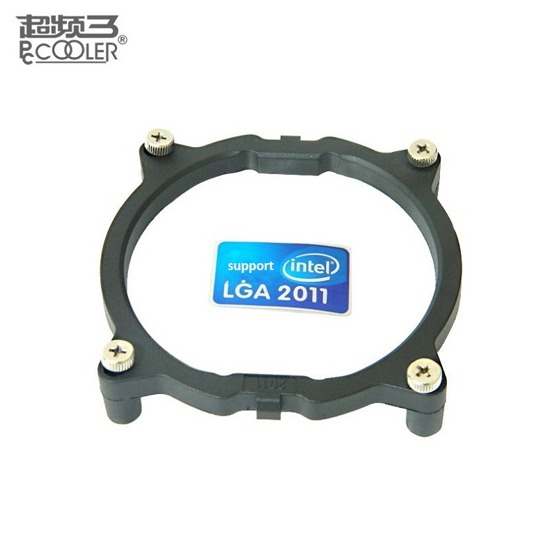 PcCooler For Intel LGA <font><b>2011</b></font> CPU <font><b>Cooler</b></font> Bracket Motherboard <font><b>Socket</b></font> <font><b>2011</b></font> CPU fan intall fastening Plastic stents framework frame image