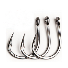 3/0-10-10827NP 10pcs/ Pack Stainless Steel Octopus Fishing Hook Big Fishing Hooks Mustad Fish Hook