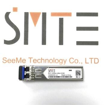 Compatible con Allied Telesis AT-SPLX40/1550 1000BASE-LX SFP 1550nm 40km transmisor DDM módulo...