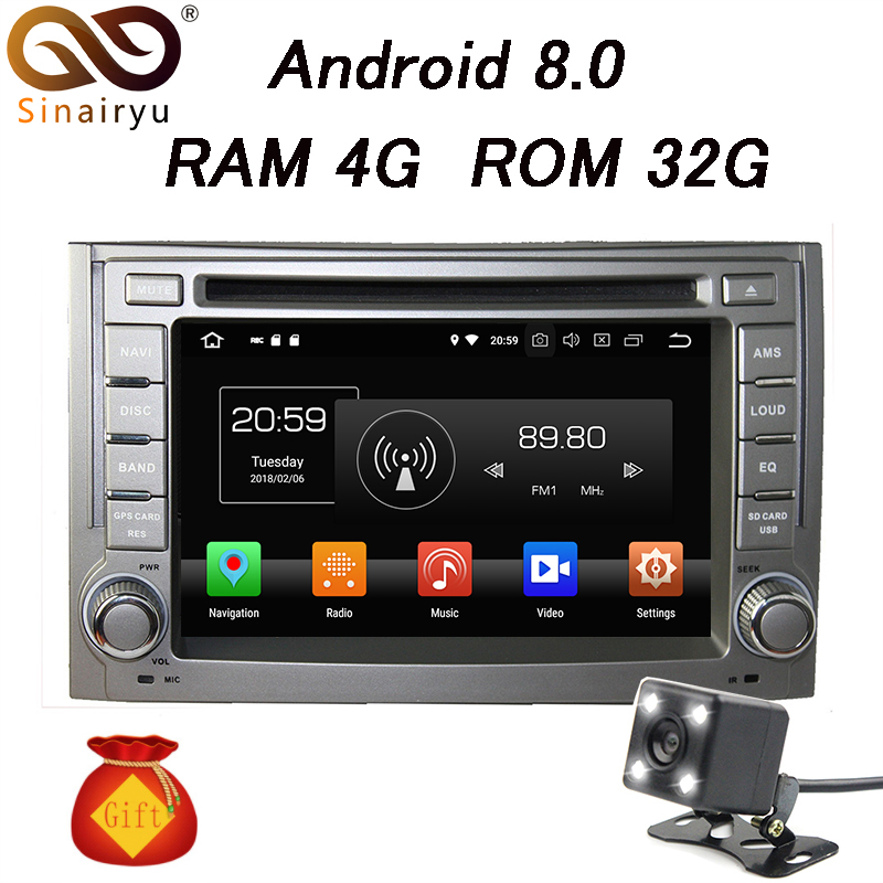 4GB RAM Android 8.0 Octa Core Android 6.0 Car DVD Player GPS Radio For Hyundai H1 Grand Starex 2007-2015 Wifi BT 4G Wifi farcar s170 hyundai starex h1 android l233