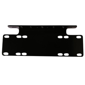 Image 3 - Marloo Universal Front Bumper License Plate Mounting Bracket Holder For Offroad LED Driving Work Light Bar Truck SUV 4x4 4WD