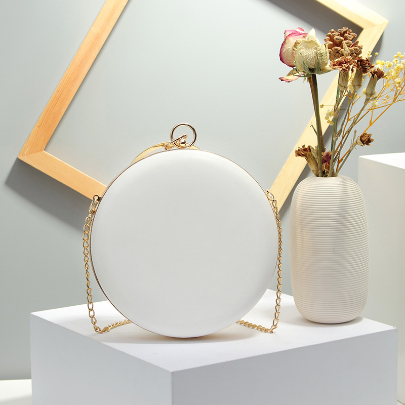 Circular Shaped Women Evening Bags  2
