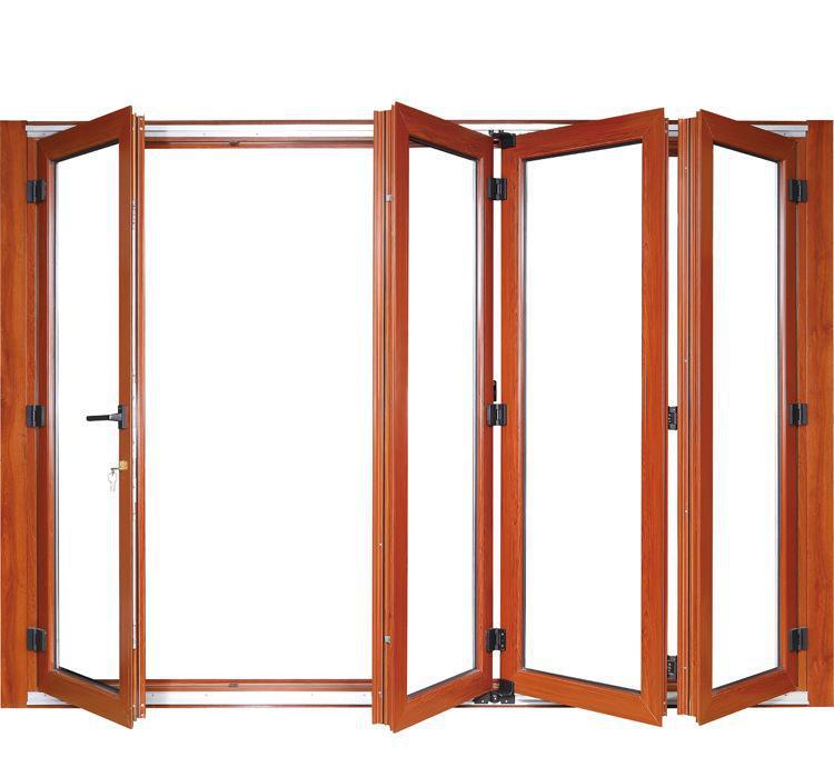 Aluminium Foding Doors Aluminum Windows Double Glazed Aluminium Bi Fold Doors  Hc-adw5