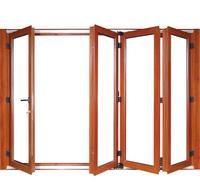 Aluminium foding doors aluminum windows double glazed aluminium bi fold doors hc adw5