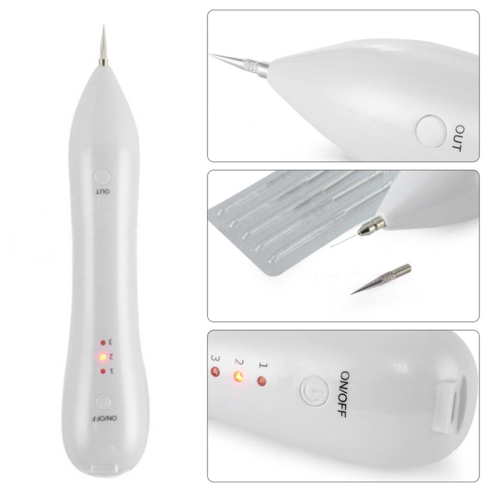 Beauty Instrument Laser Freckle Removal Machine Skin Mole Dark Spot Remover For Face Wart Tag Tattoo Remaval Pen Drop Shipping