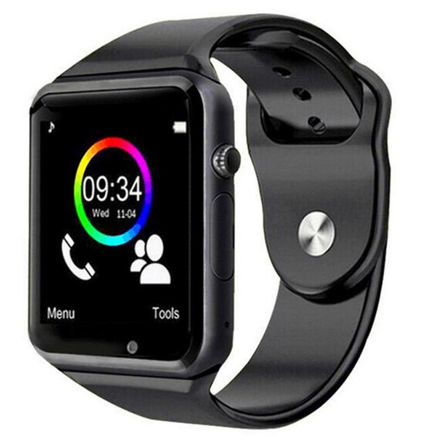 Men Smart Watch A1 Bluetooth Sport Wristwatch Support 2G SIM TF  Card Camera Smartwatch For Android Phone PK GT08 DZ09 Q18 Y1 V8