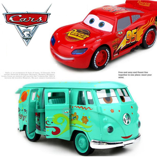 Pixar Cars Diecasts Fillmore Metal Alloy Cars Pixar Car Toys Loose