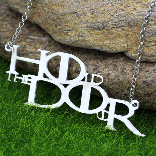 Game Of Thrones Song Of Ice And Fire Arya Stark Hodor Hold The Door Pendant Necklace Jewelry
