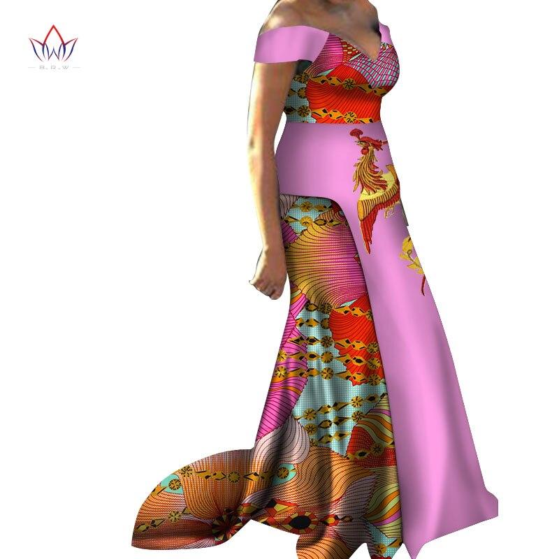 Robes africaines pour femmes Dashiki Phoenix applique sans manches vêtements africains pour dame douce robe traditionnelle pour la fête WY3632