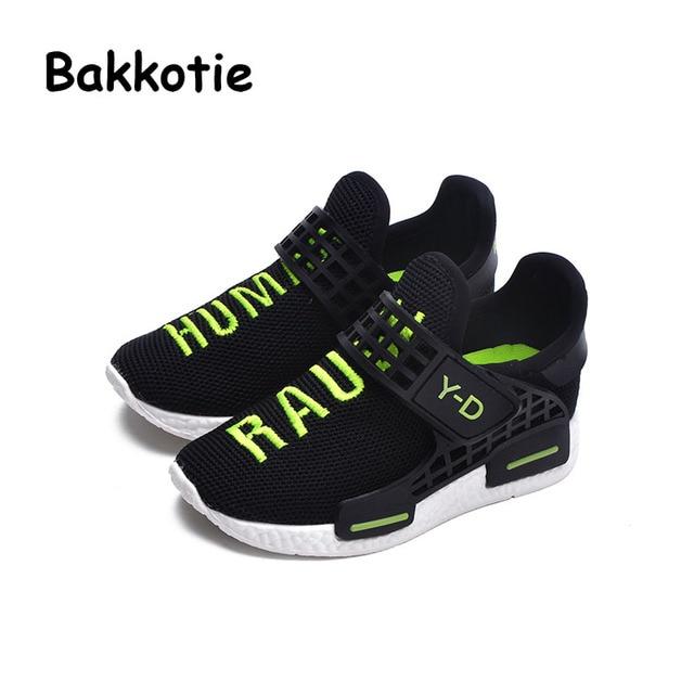 Bakkotie 2017 New Fashion Children Spring Autumn Baby Boy Casual Sport Shoe Kid Brand Breathable Leisure Girl Sneaker Knit Soft