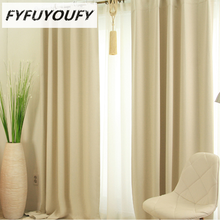 3 Color Modern Luxury Elegant Solid Curtain Window Blinds Kitchen Curtain  For Living Room Flat Windows Curtains Can Customized