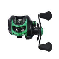 Meego 19+1BB Baitcasting Fishing Reel 9.1:1 Bait Casting Reels Left / Right Hand Reel with One Way Clutch Fish Pesca Reel