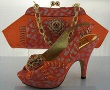 Neue Ankunft Italienisches Design Schuhe Und Tasche Set Fashion Frau pumpen Schuhe Und Tasche Set Für Party Hochzeit High Heels ME2205