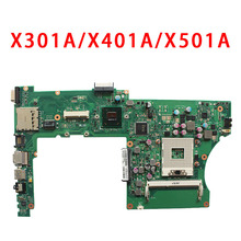 X301A X401A X501A laptop motherboard for ASUS support CPU I3 I5 tested Ok and Top quality in stock