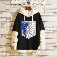 Men Women Hoodies Anime Attack on Titan Hoodie Pullover Hooded Sweatshirt Sportswear Cosplay Costume Hip-hop Hood Coat Outerwear все цены