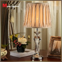 Free Shipping besaid Lamps crystal lamp decoration fashion brief fashion ofhead crystal table lamp 100% Crystal K9 top Grade