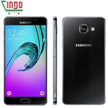 2016 Original Samsung Galaxy A5 A5100 Mobile Phone 2GB RAM 16GB ROM 5.2 inch Dual SIM 4G LTE Octa Core 13MP Camera Android OS5.1