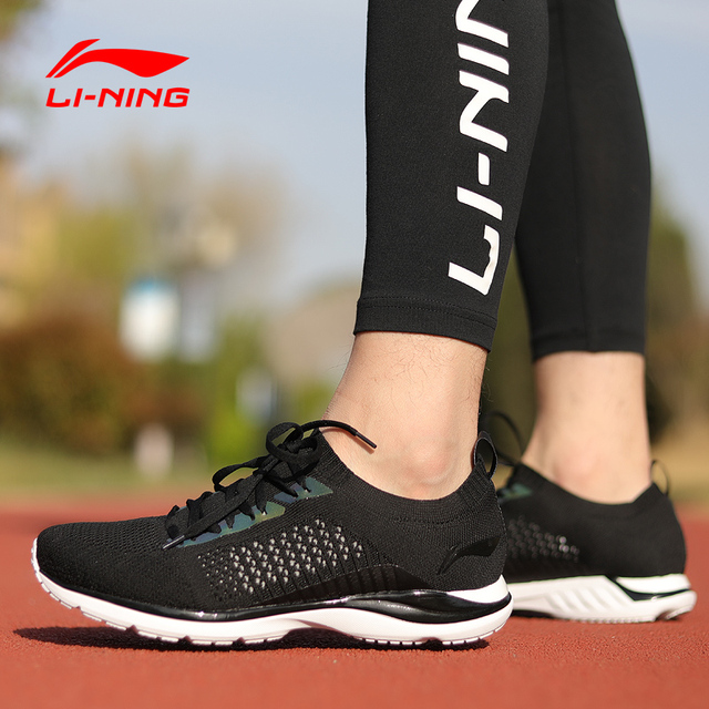Li-Ning Men Super Light XV Running Shoes Light Weight Breathable Sneakers Mono Yarn LiNing Sport Shoes ARBN009 XYP652