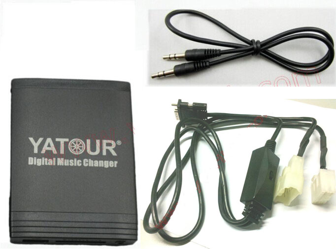 Yatour Car Digital Music Changer USB MP3 AUX Adapter Interface for Toyota Small 5+7 Big Plug with CD Changer Switch YTM06-TOY1Y yatour digital music car cd changer mp3 usb sd bluetooth aux adapter for honda accord civic crv acura 2004 2011 mp3 interface