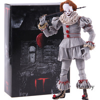 NECA Stephen King's IT 2017 Ultimate Well House the Clown Pennywise Figure Action PVC Horror Movie Dolls Collectible Model Toy