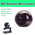 New Version SQ8 Mini Camera SQ9 1080P 720P IR Night Vision Micro Camera Motion Sensor Portable Kamera 360 Degree Mini DV DVR Cam
